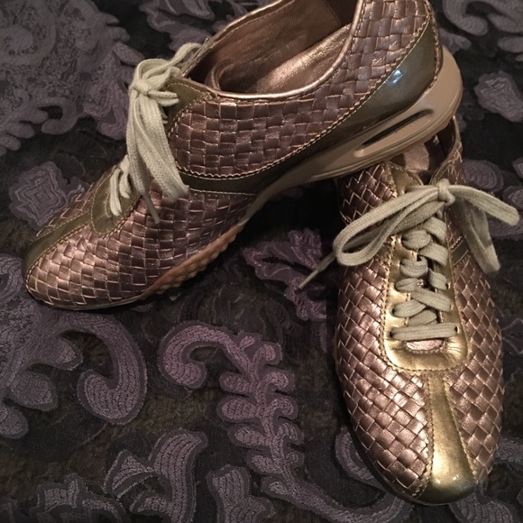 Cole Haan Basket Weave Leather Nike Air